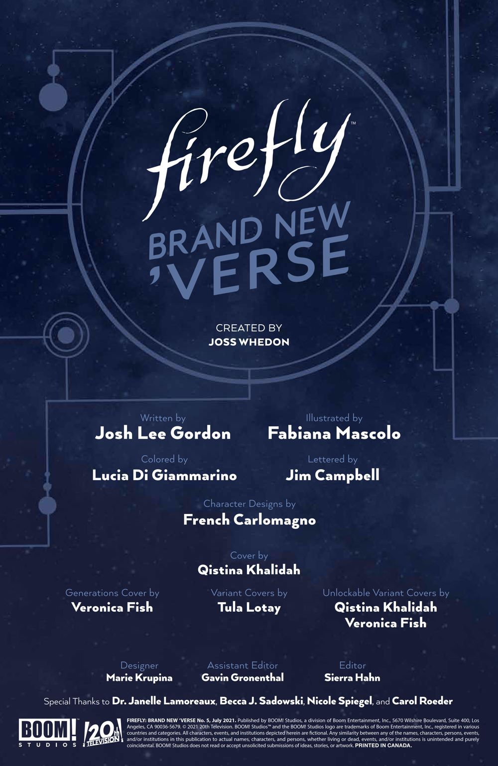Firefly_BrandNewVerse_005_PRESS_2 ComicList Previews: FIREFLY BRAND NEW 'VERSE #5 (OF 6)