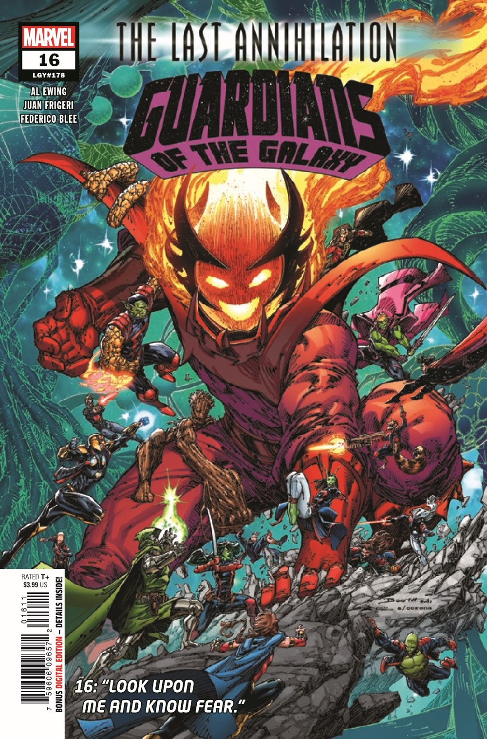 GARGAL2020016_Preview-1 ComicList Previews: GUARDIANS OF THE GALAXY #16