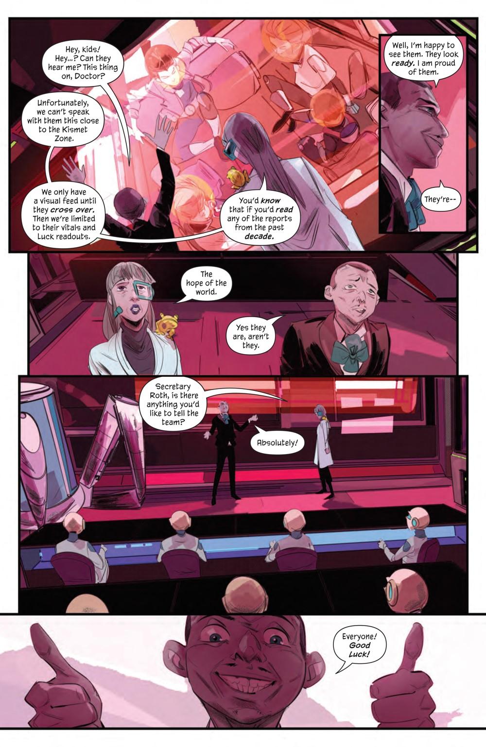 GoodLuck_002_PRESS_5 ComicList Previews: GOOD LUCK #2 (OF 5)