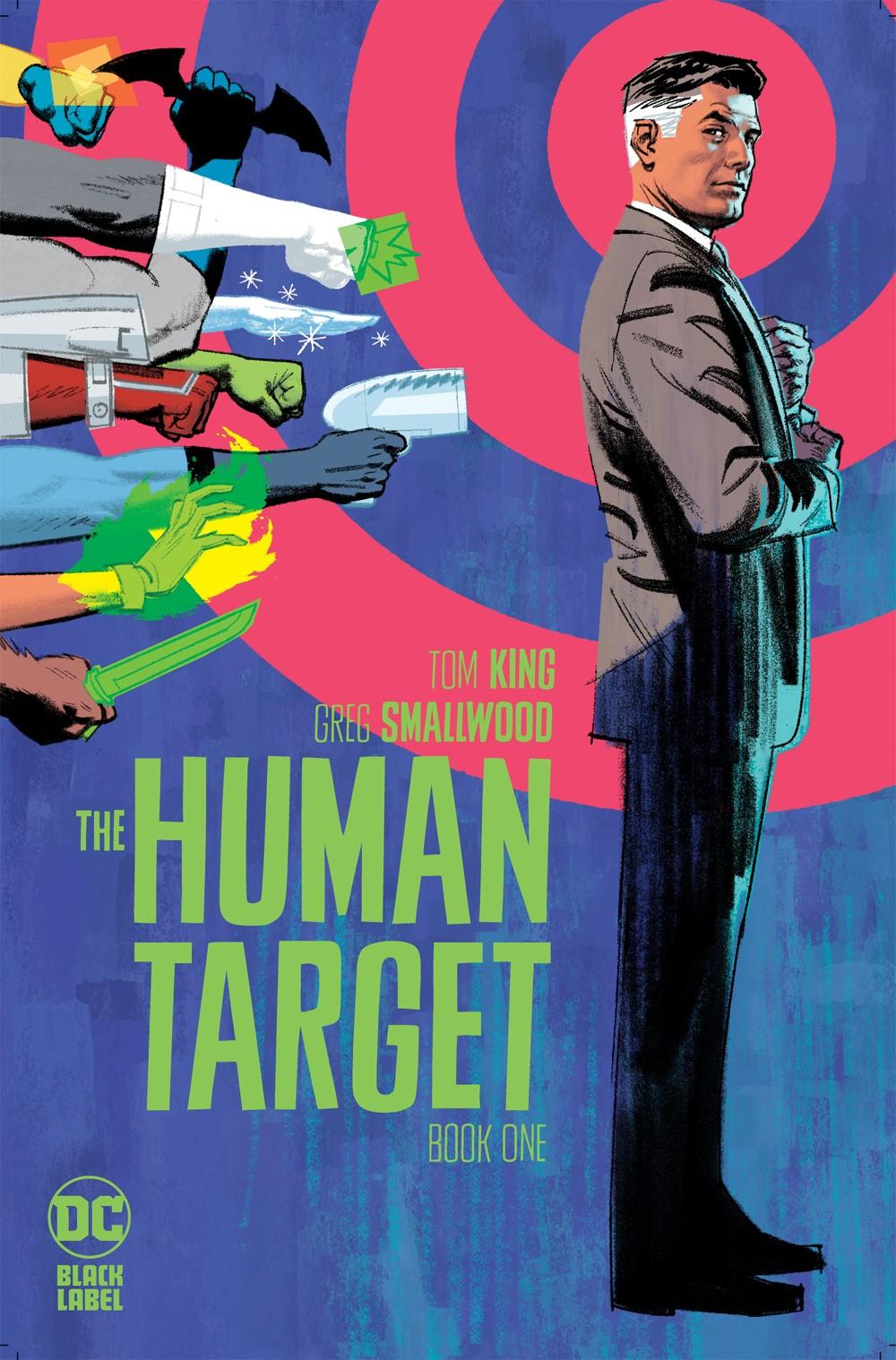 HUMAN-TARGET-CVR-01 DC Comics October 2021 Solicitations