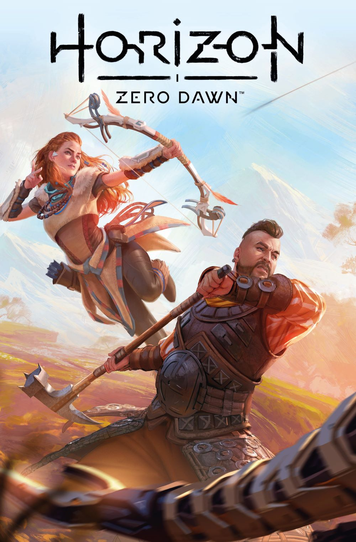 HorizonZeroDawn21_00_Cover_E ComicList Previews: HORIZON ZERO DAWN LIBERATION #1