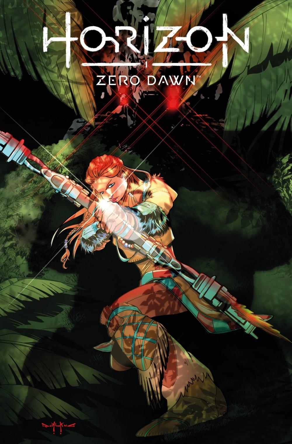 HorizonZeroDawn24_00_Cover_A Titan Comics October 2021 Solicitations