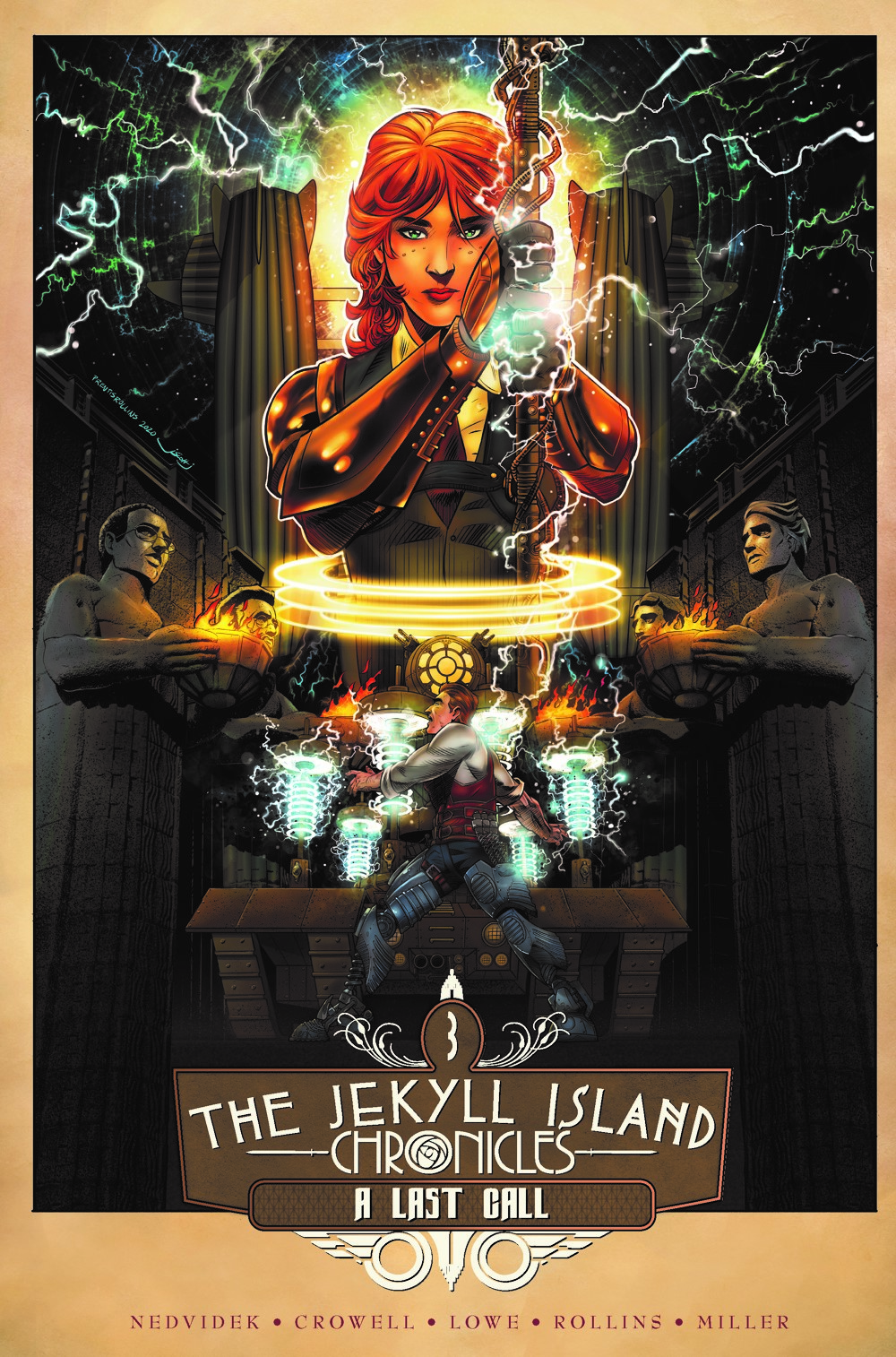 JIC_3_TPB_cov-5 ComicList Previews: THE JEKYLL ISLAND CHRONICLES VOLUME 3 A LAST CALL GN