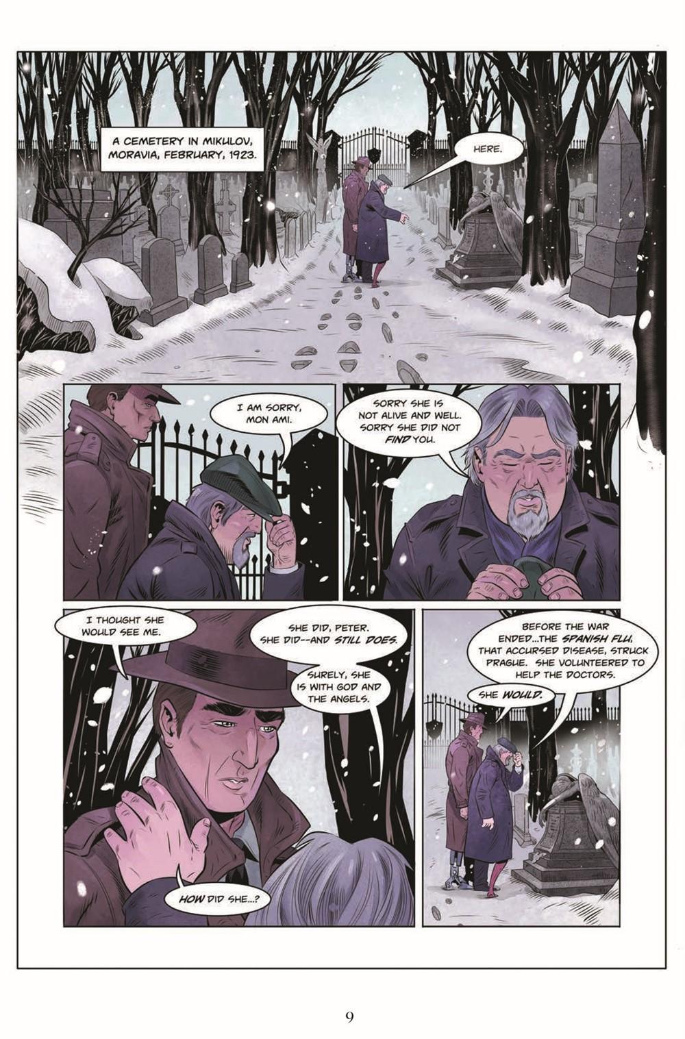 JIC_3_TPB_pr-7 ComicList Previews: THE JEKYLL ISLAND CHRONICLES VOLUME 3 A LAST CALL GN