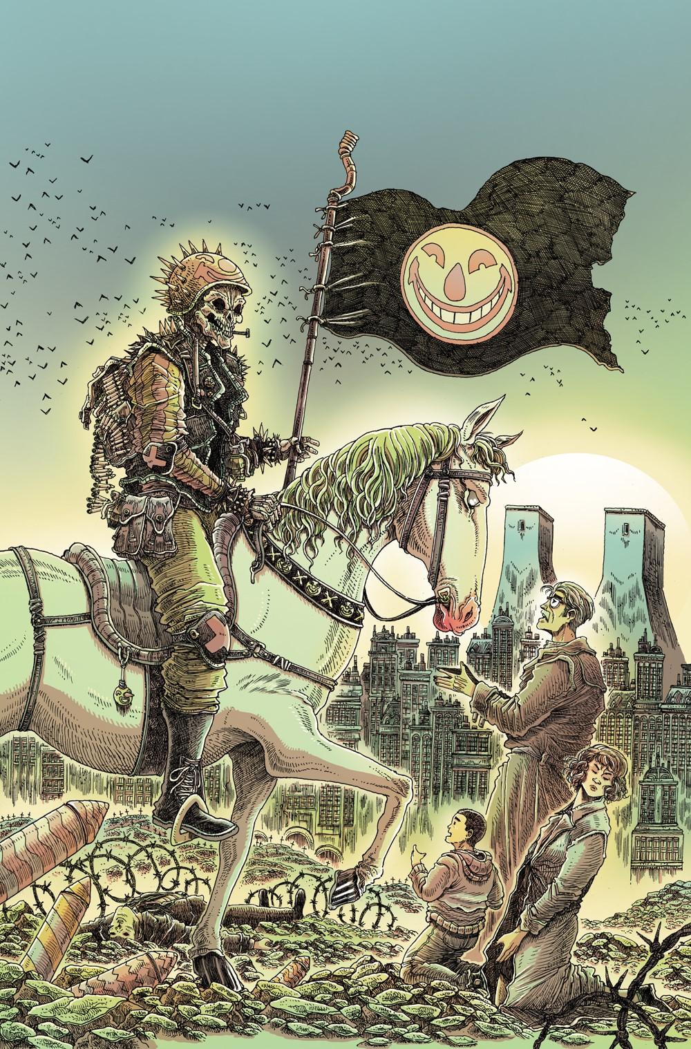 Joker8_Ratio_Variant_NOTRADEDRESS DC Comics October 2021 Solicitations