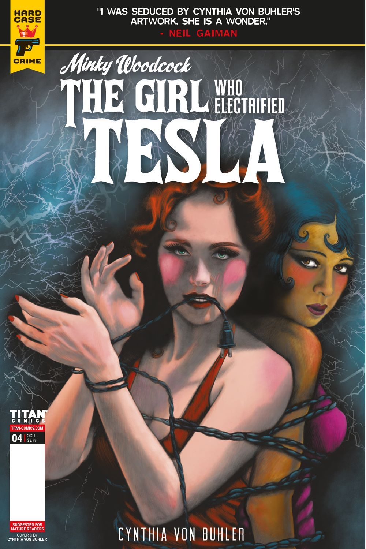 MINKY_WOODCOCK_ARC2_4_COVER_3 ComicList Previews: MINKY WOODCOCK THE GIRL WHO ELECTRIFIED TESLA #4