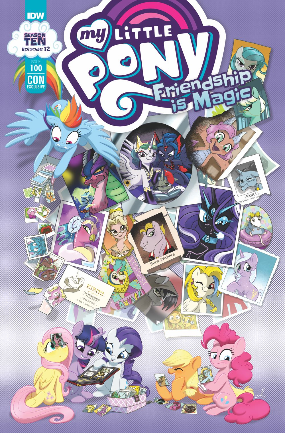 MLP100_12-coverCON ComicList Previews: MY LITTLE PONY FRIENDSHIP IS MAGIC #100