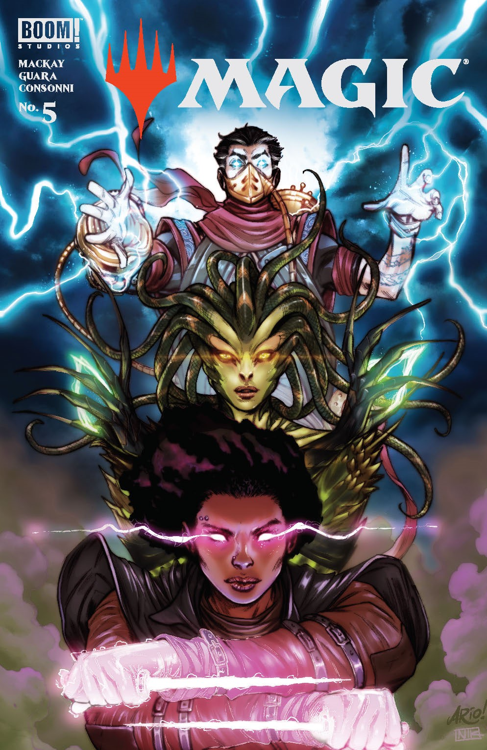 Magic_005_Cover_E_Variant ComicList Previews: MAGIC #5