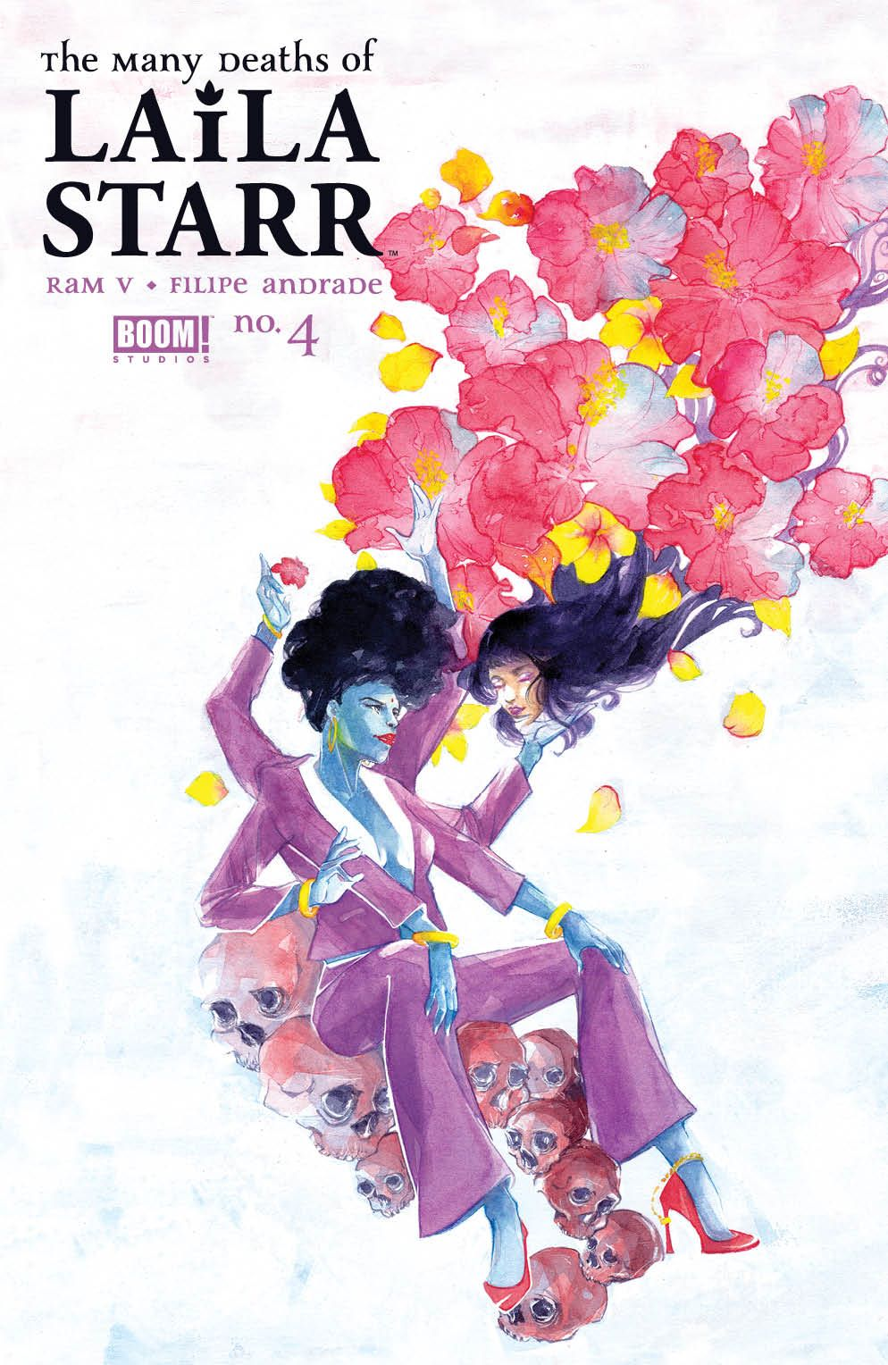 ManyDeathsLailaStarr_004_Cover_B_Foil ComicList Previews: MANY DEATHS OF LAILA STARR #4 (OF 5)