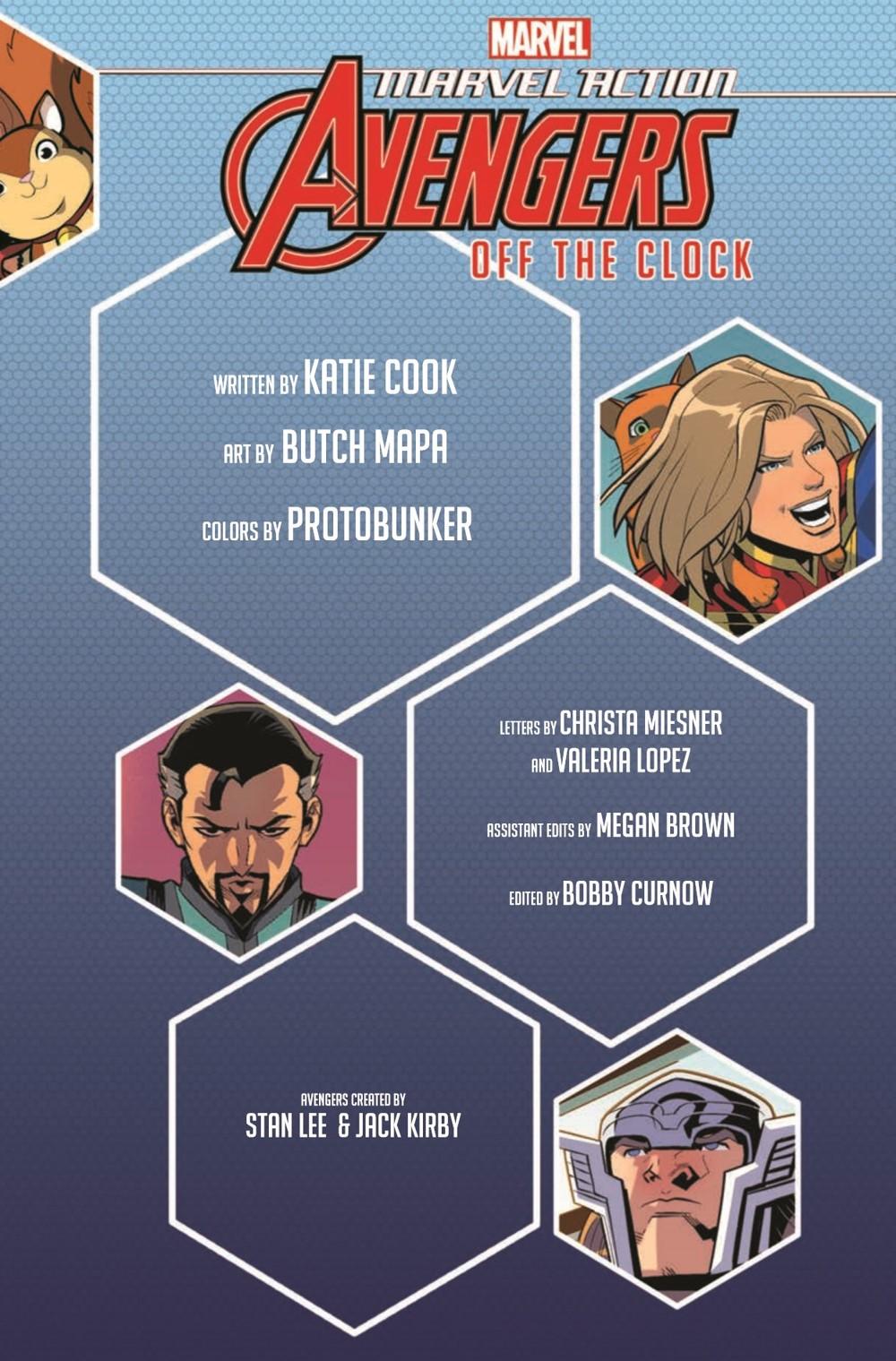MarvelAction_Avengers_Vol.1_OffTheClock_TPB_pr-3 ComicList Previews: MARVEL ACTION AVENGERS VOLUME 5 OFF THE CLOCK TP