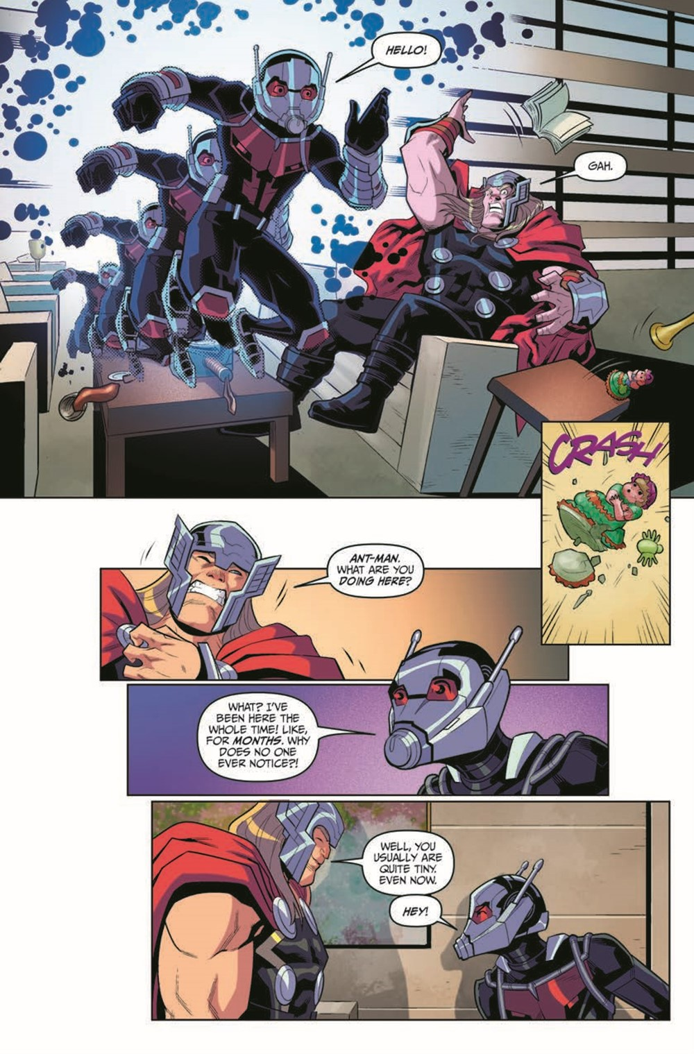 MarvelAction_Avengers_Vol.1_OffTheClock_TPB_pr-8 ComicList Previews: MARVEL ACTION AVENGERS VOLUME 5 OFF THE CLOCK TP