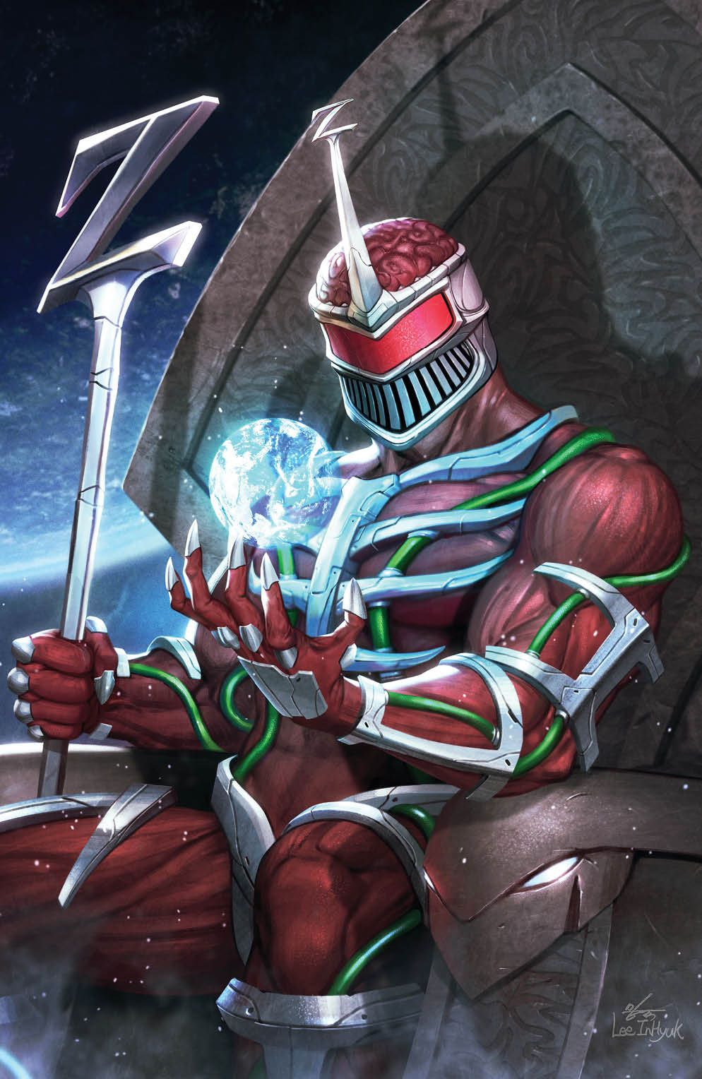 Mighty_Morphin_009_Cover_C_Variant_Undressed ComicList Previews: MIGHTY MORPHIN #9