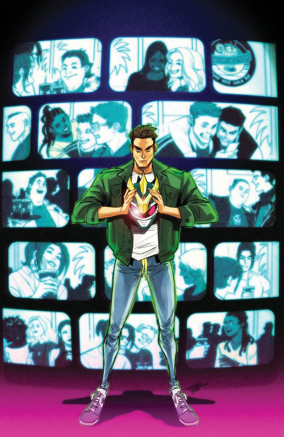 Mighty_Morphin_009_Cover_D_Variant_Undressed ComicList Previews: MIGHTY MORPHIN #9