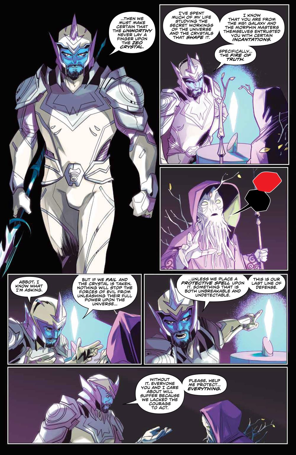 Mighty_Morphin_009_PRESS_4 ComicList Previews: MIGHTY MORPHIN #9
