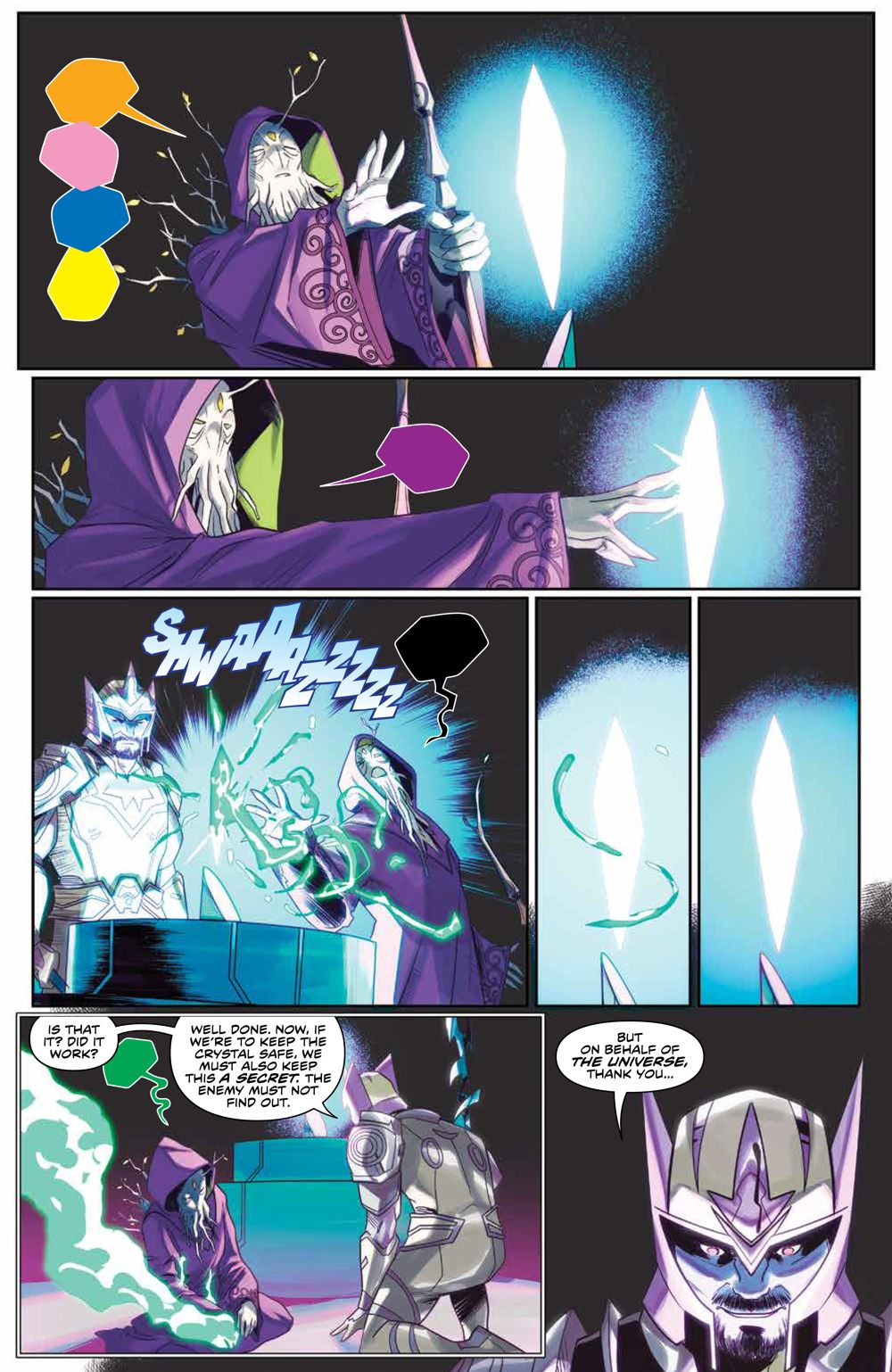 Mighty_Morphin_009_PRESS_5 ComicList Previews: MIGHTY MORPHIN #9