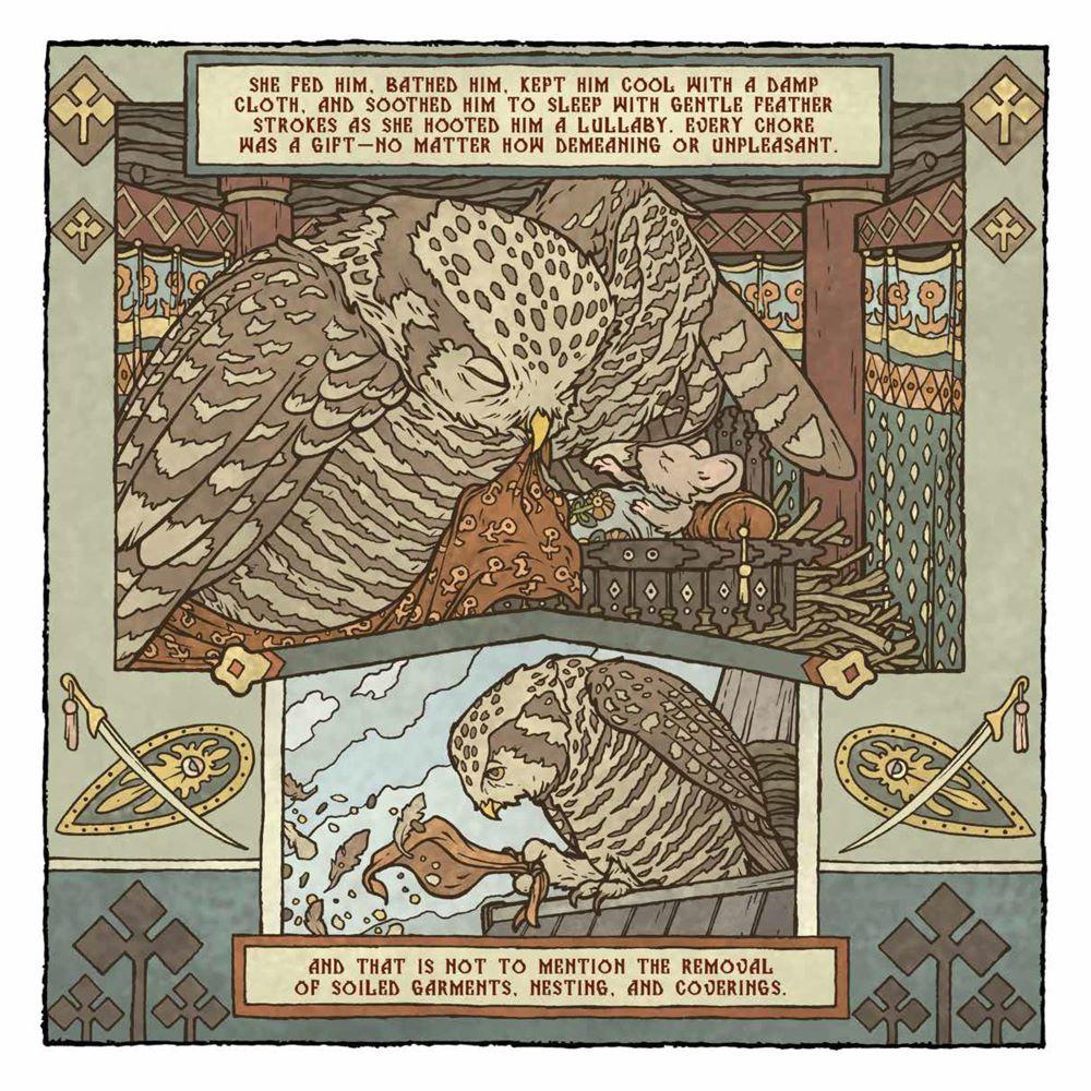 MouseGuard_OwlhenCaregiver_001_PRESS_6 ComicList Previews: MOUSE GUARD THE OWLHEN CAREGIVER #1