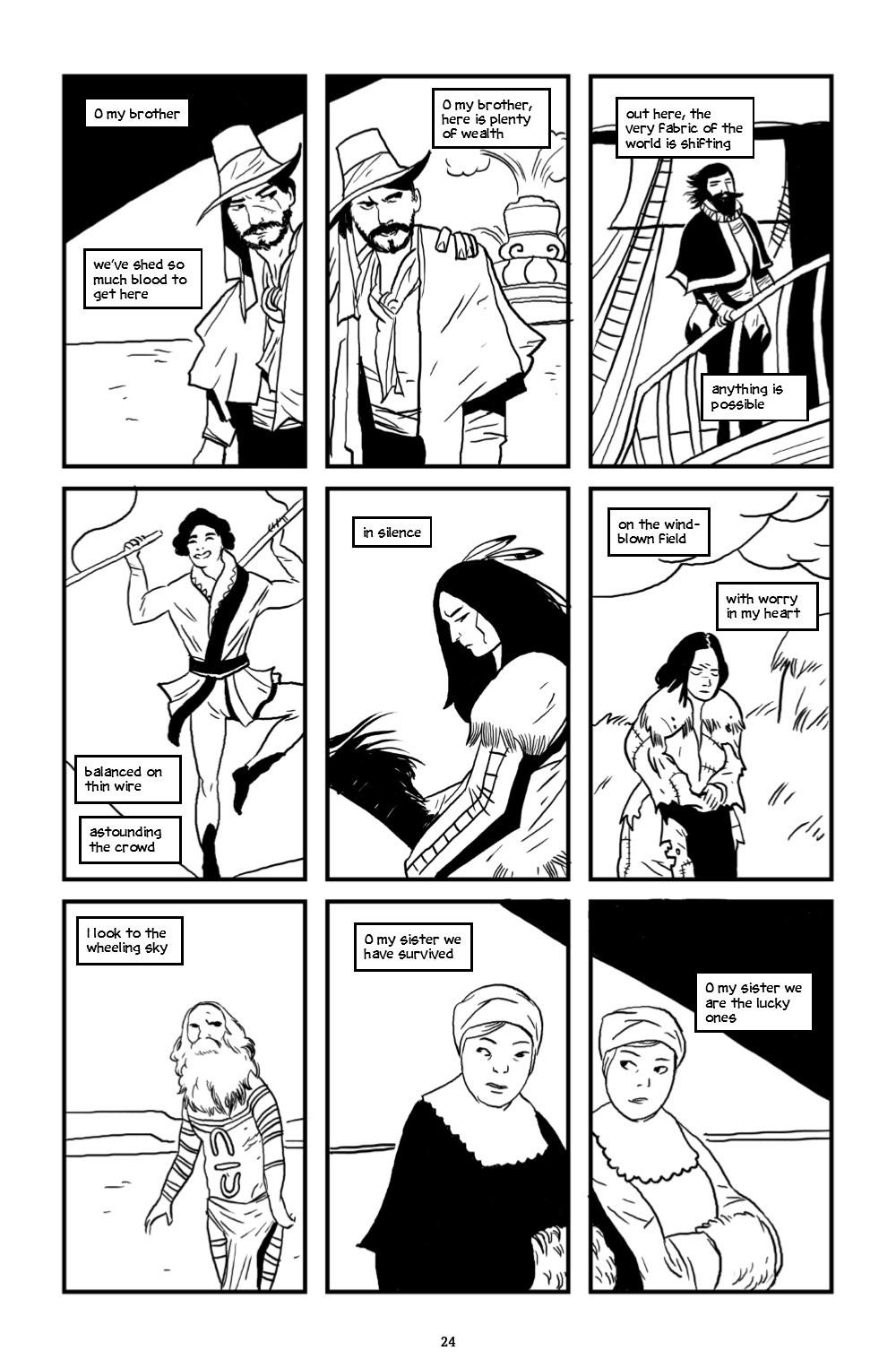 ONELINE-HC-MARKETING-025 ComicList Previews: ONE LINE HC