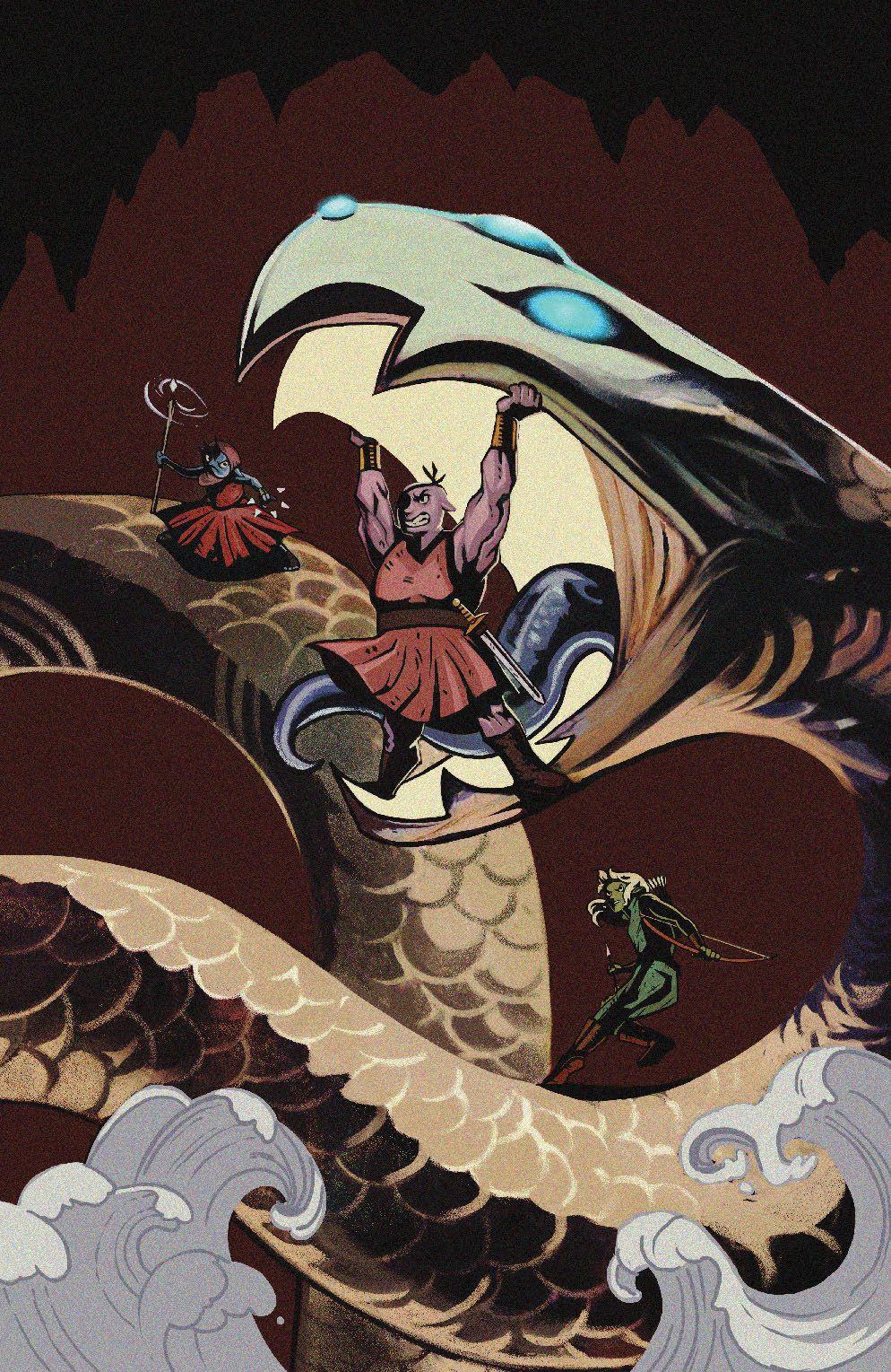 Orcs_006_Cover_C_Variant ComicList Previews: ORCS #6 (OF 6)