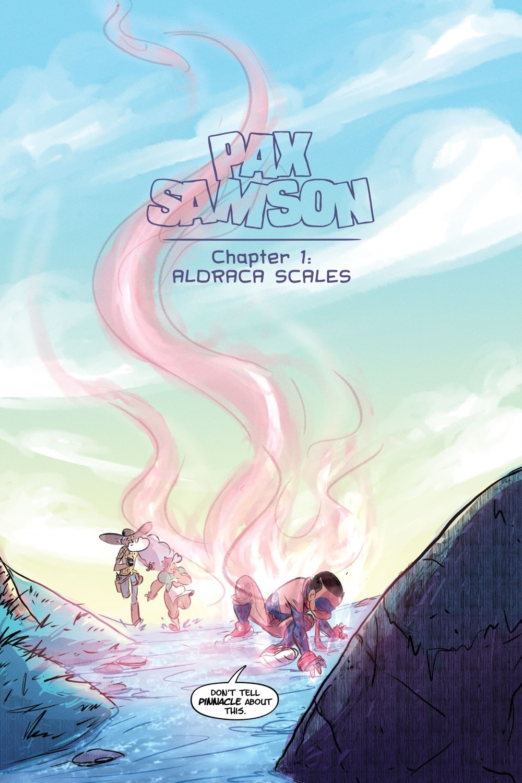 PAXSAM-V1-MARKETING-005 ComicList Previews: PAX SAMSON VOLUME 1 THE COOKOUT TP