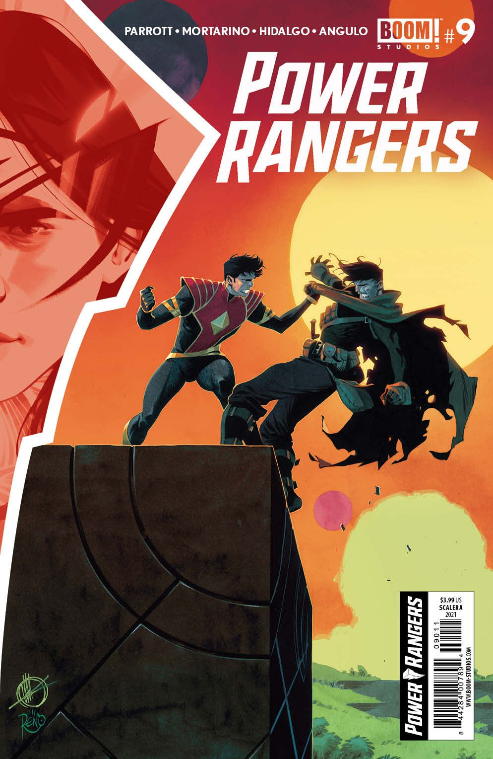 PowerRangers_009_Cover_A_Main ComicList Previews: POWER RANGERS #9
