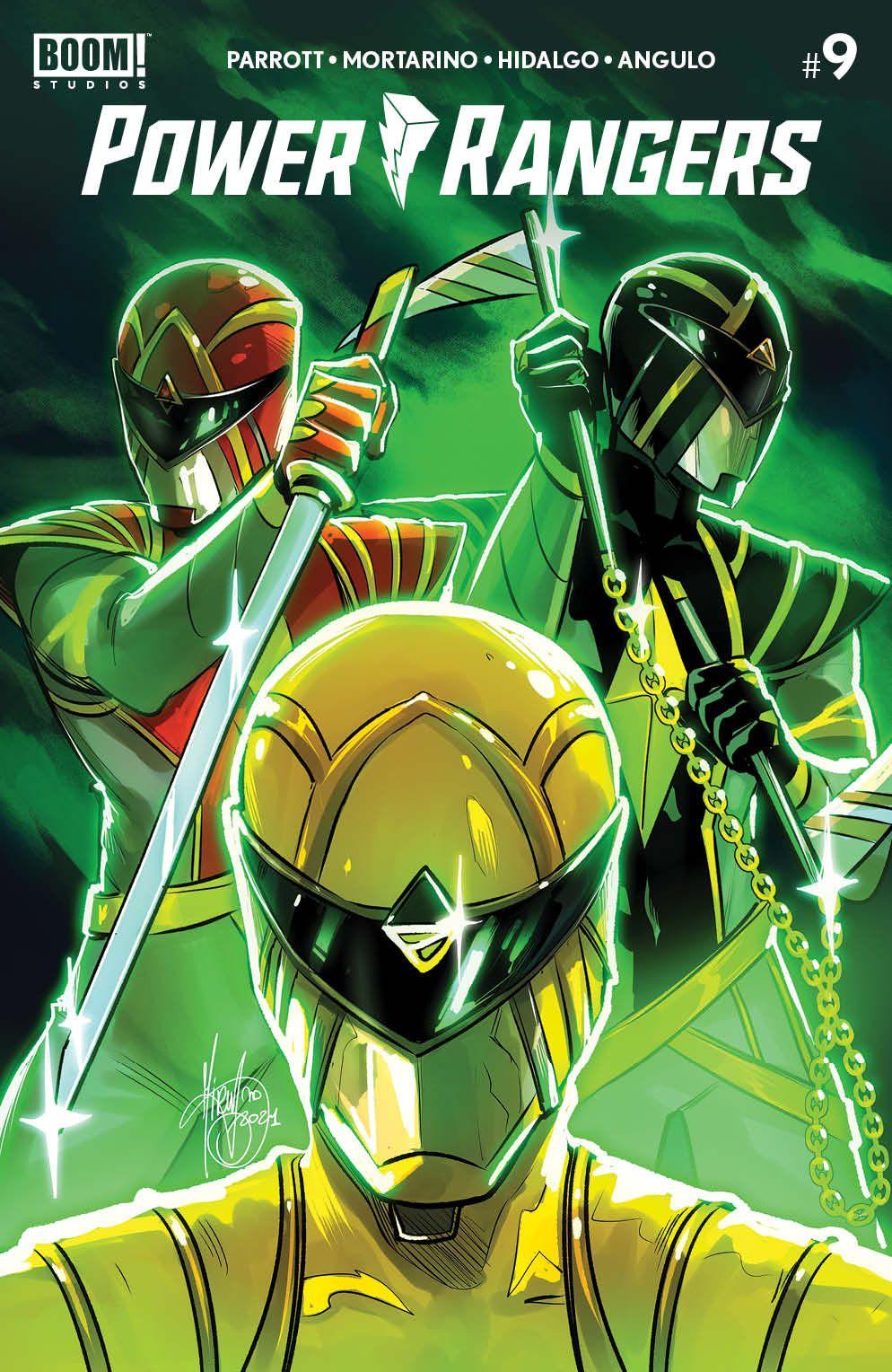 PowerRangers_009_Cover_F1_Variant ComicList Previews: POWER RANGERS #9