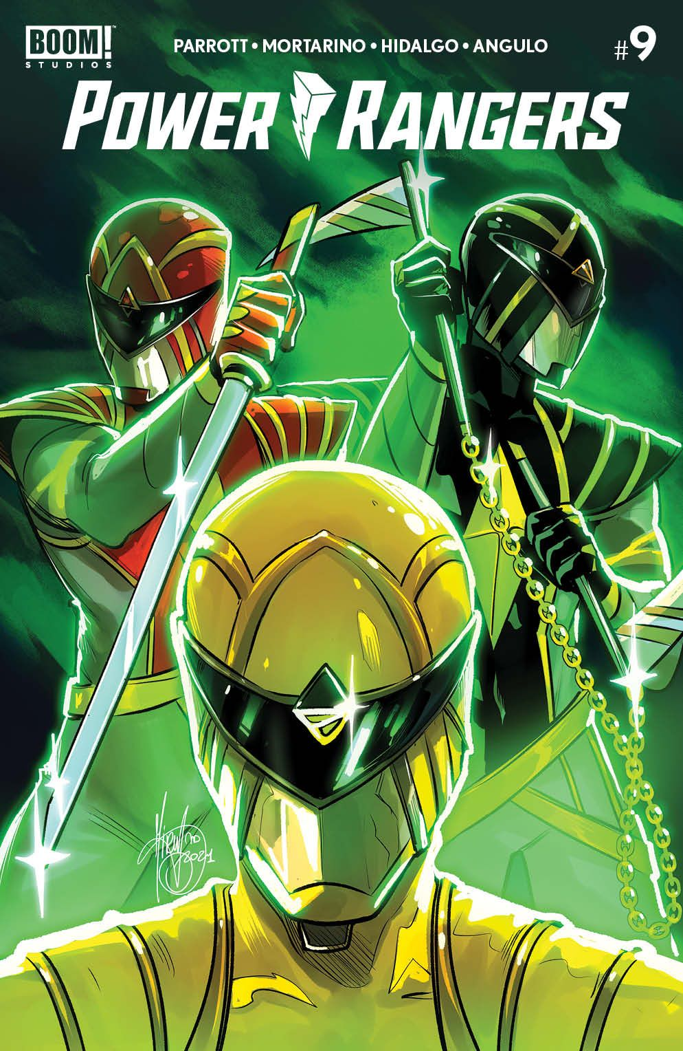 PowerRangers_009_Cover_F1_Variant ComicList: BOOM! Studios New Releases for 07/21/2021