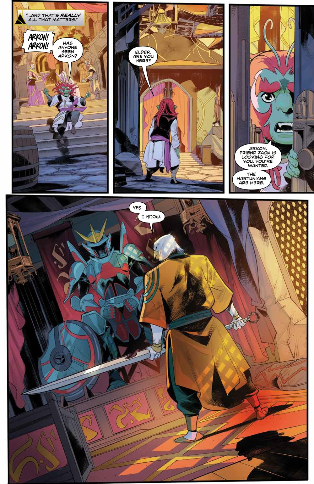 PowerRangers_009_PRESS_5 ComicList Previews: POWER RANGERS #9