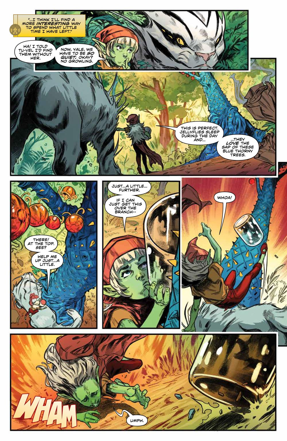 PowerRangers_009_PRESS_8 ComicList Previews: POWER RANGERS #9