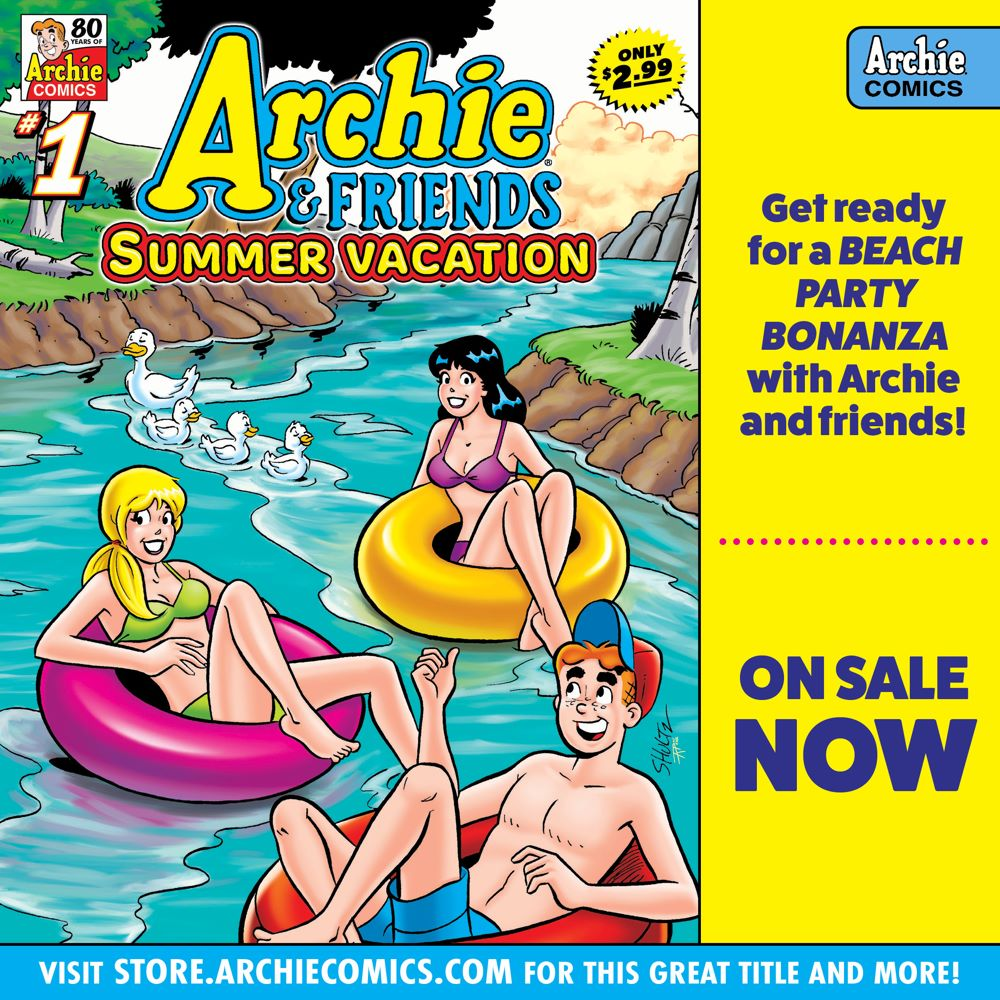 Preorder_Graphic_JUL_2021_OSN_07 ComicList Previews: ARCHIE AND FRIENDS SUMMER VACATION #1