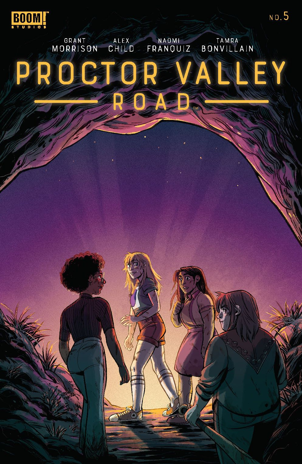 ProctorValleyRoad_005_Cover_A_Main ComicList Previews: PROCTOR VALLEY ROAD #5 (OF 5)