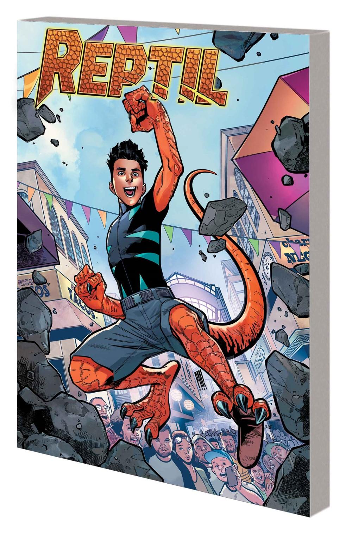 REPTIL_GN_TPB Marvel Comics October 2021 Solicitations