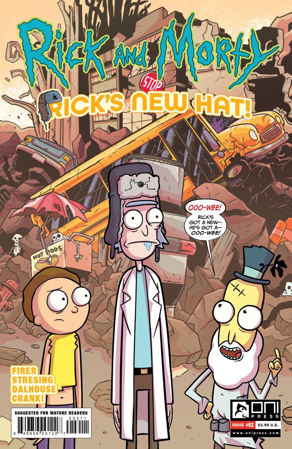 RM-RNH-2-REFERENCE-01 ComicList Previews: RICK AND MORTY RICK'S NEW HAT #2