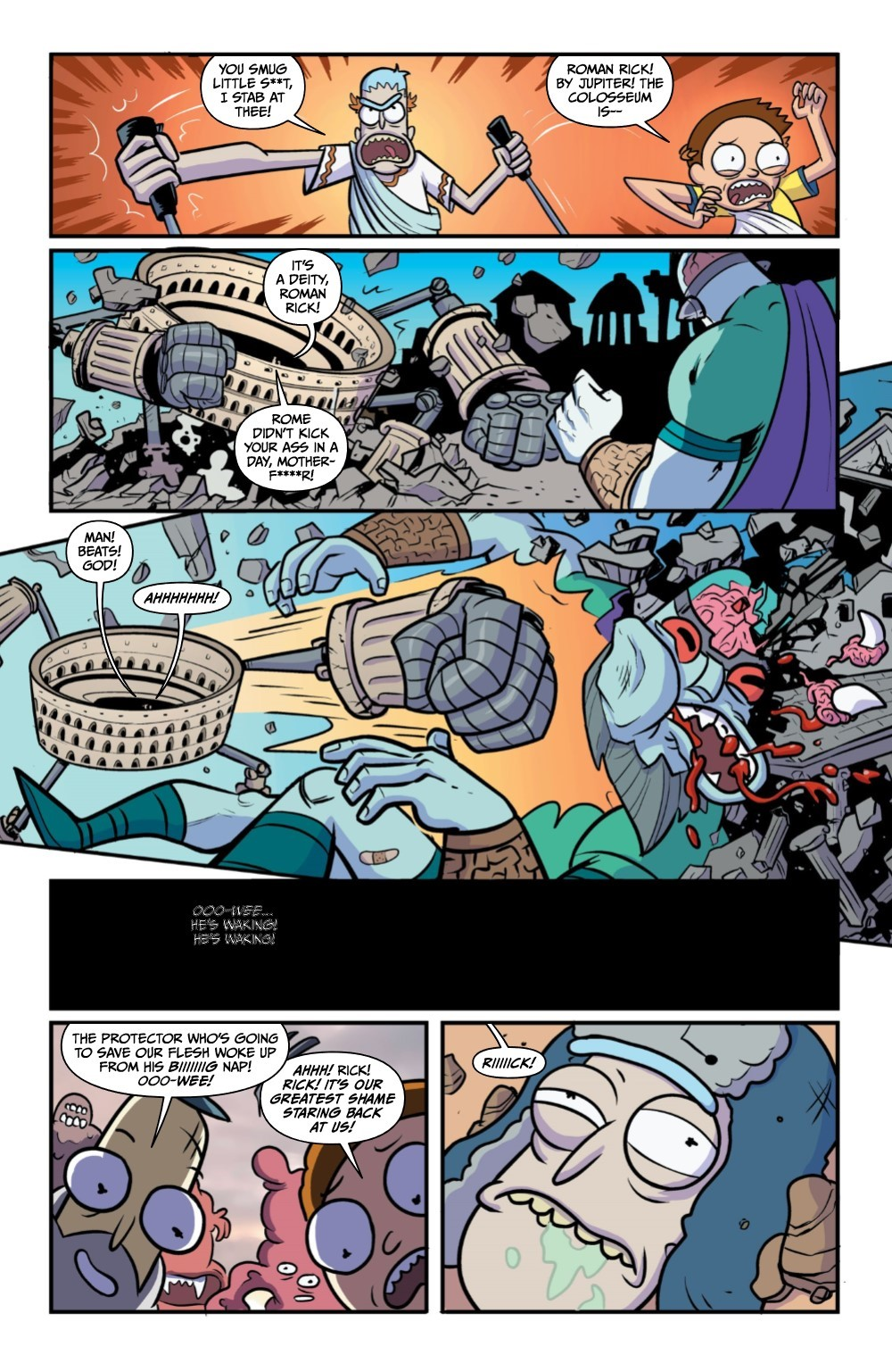 RM-RNH-2-REFERENCE-05 ComicList Previews: RICK AND MORTY RICK'S NEW HAT #2