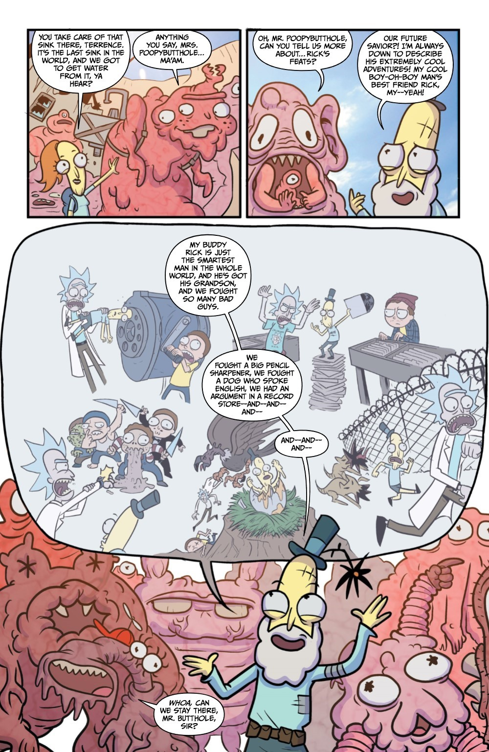 RM-RNH-2-REFERENCE-09 ComicList Previews: RICK AND MORTY RICK'S NEW HAT #2