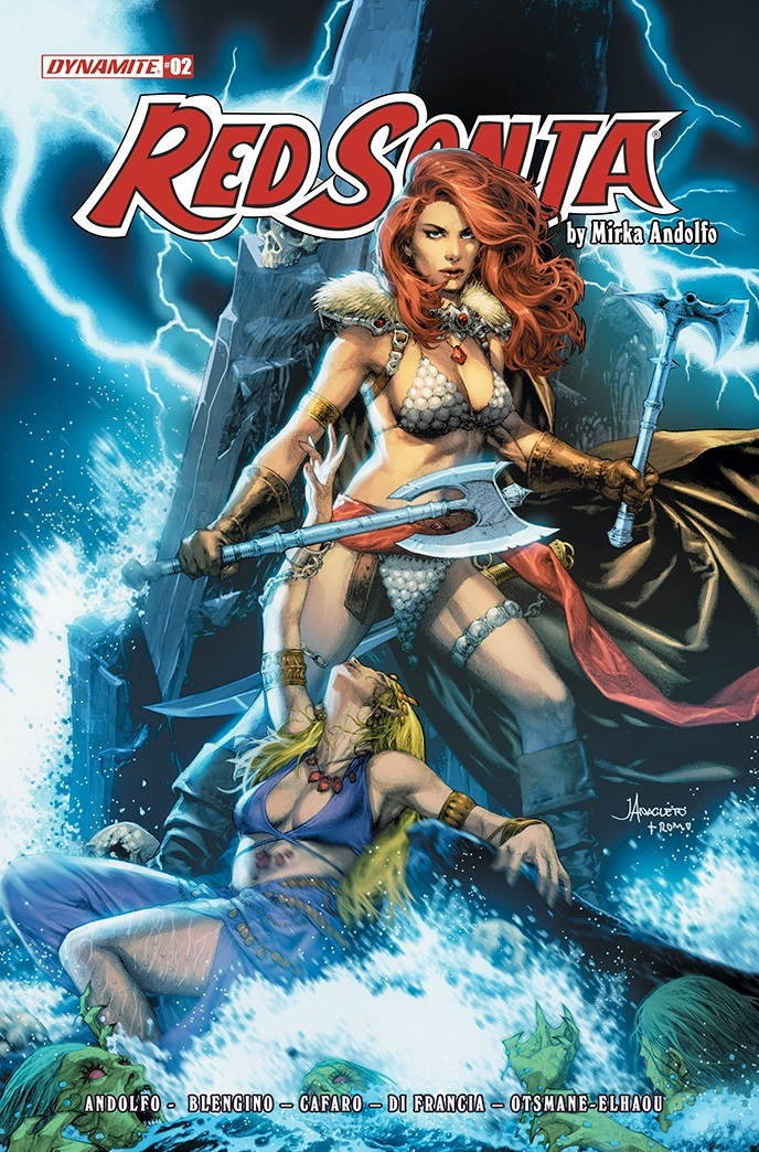 RedSonja2021-02-02021-B-Anacleto Dynamite Entertainment October 2021 Solicitations