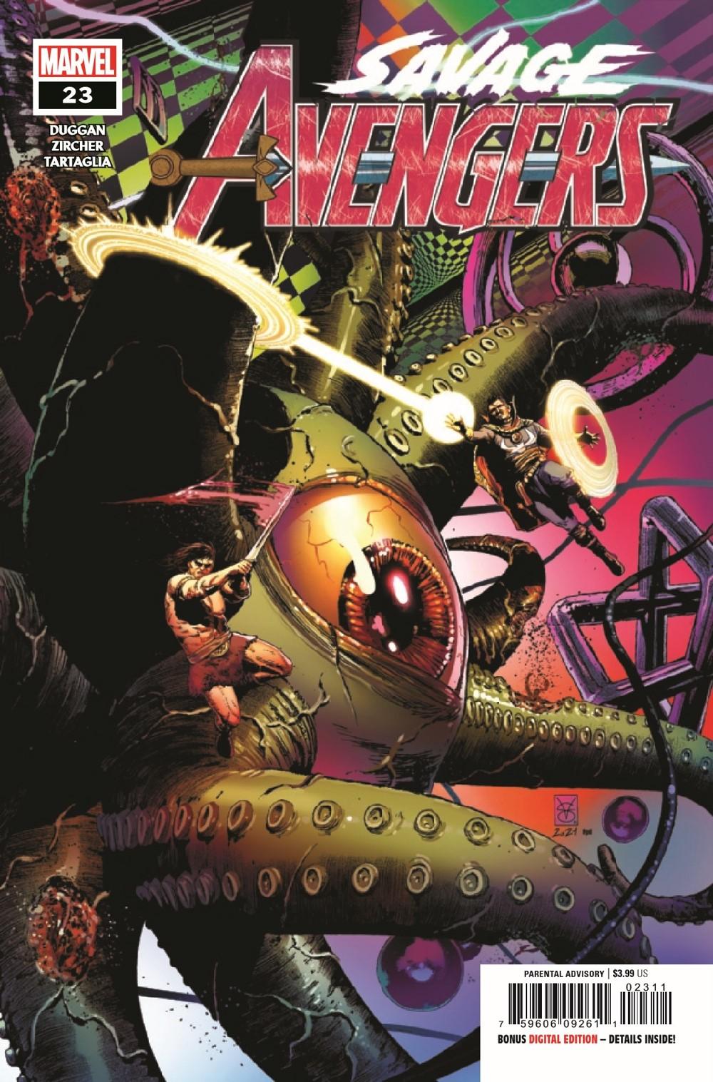 SAVAVEN2019023_Preview-1 ComicList Previews: SAVAGE AVENGERS #23