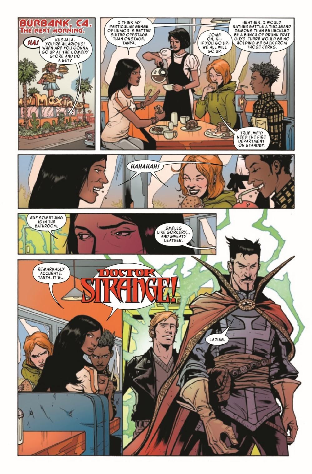 SOVSPRIDER2021001_Preview-3 ComicList Previews: SPIRITS OF VENGEANCE SPIRIT RIDER #1