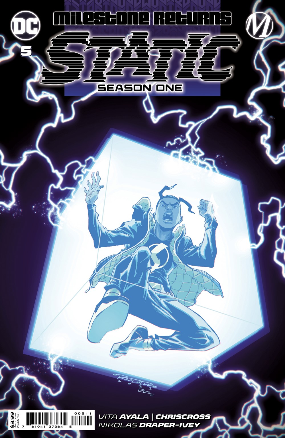 STATIC_S1_Cv5_00511 DC Comics October 2021 Solicitations