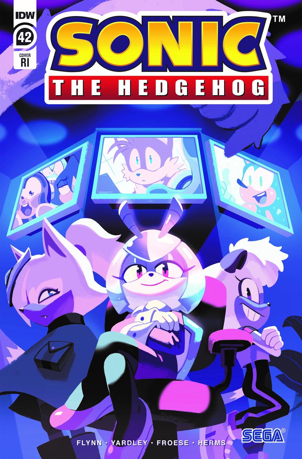 STH42_cvrRI ComicList Previews: SONIC THE HEDGEHOG #42