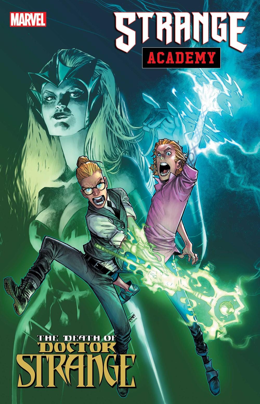 STRANGE_ACADEMY_DRSTDEATH Marvel Comics October 2021 Solicitations