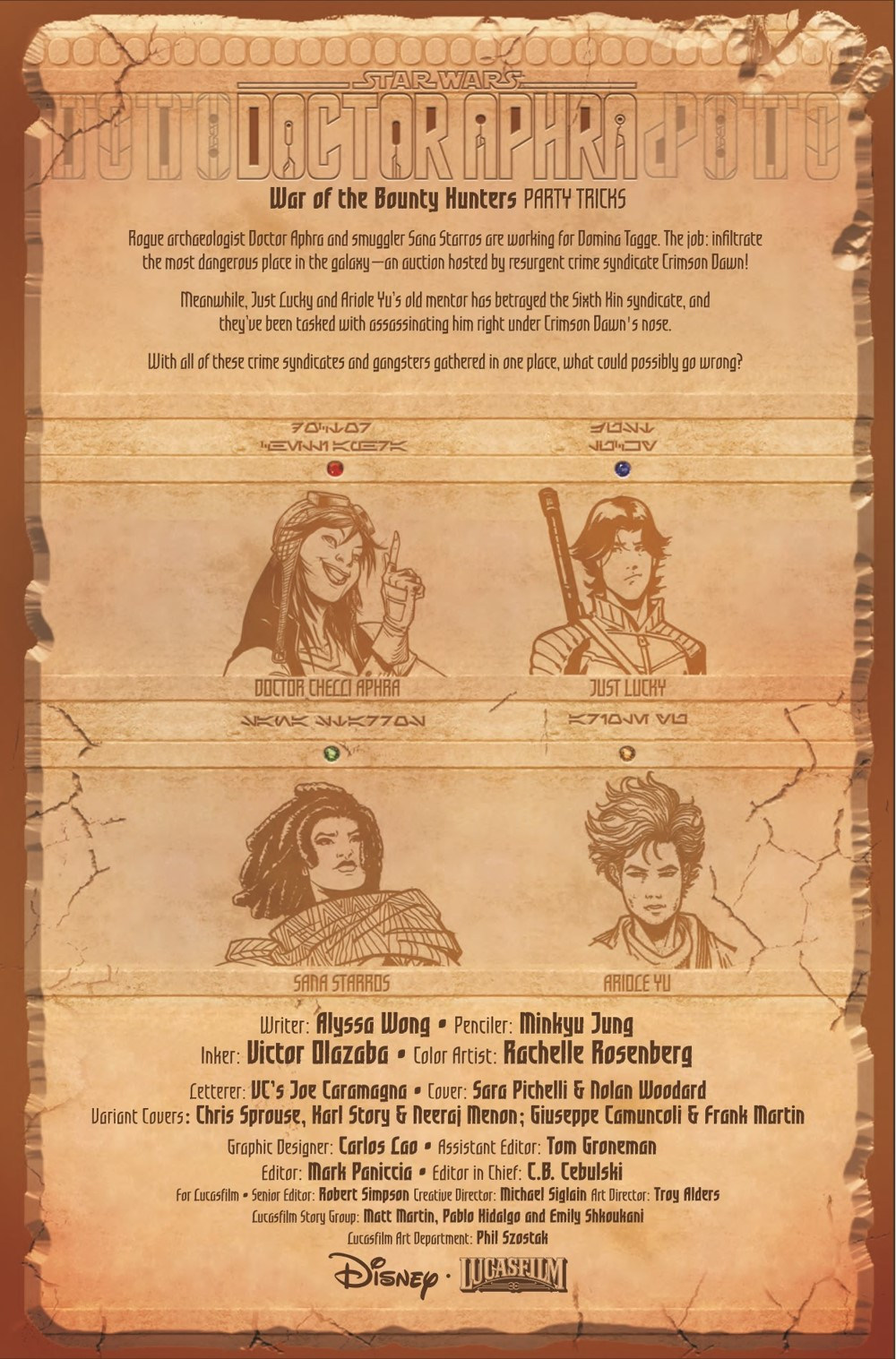 STWAPHRA2020012_Preview-2 ComicList Previews: STAR WARS DOCTOR APHRA #12