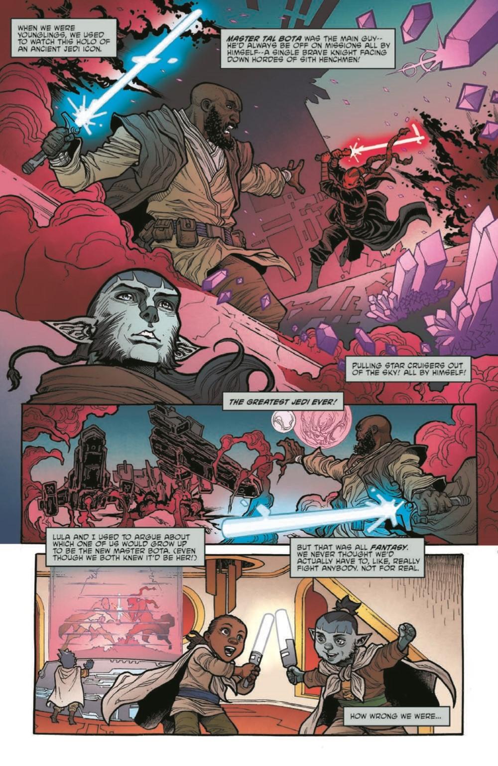 SWAHRA06-pr-3 ComicList Previews: STAR WARS THE HIGH REPUBLIC ADVENTURES #6
