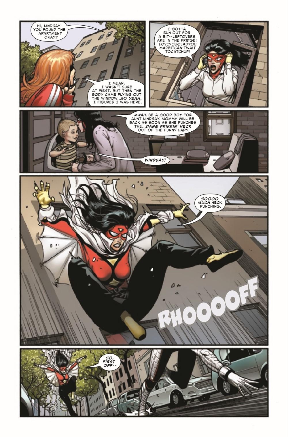 SWOMAN2020013_Preview-6 ComicList Previews: SPIDER-WOMAN #13