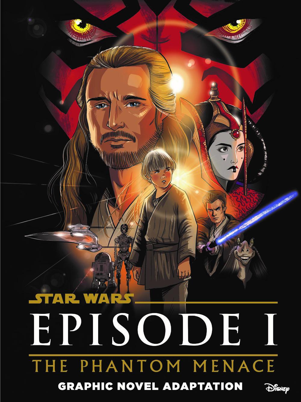 SW_The-Phantom-Menace_Cover ComicList Previews: STAR WARS THE PHANTOM MENACE GRAPHIC NOVEL ADAPTATION GN