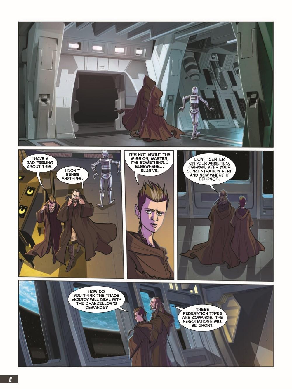 SW_The-Phantom-Menace_pr-4 ComicList Previews: STAR WARS THE PHANTOM MENACE GRAPHIC NOVEL ADAPTATION GN