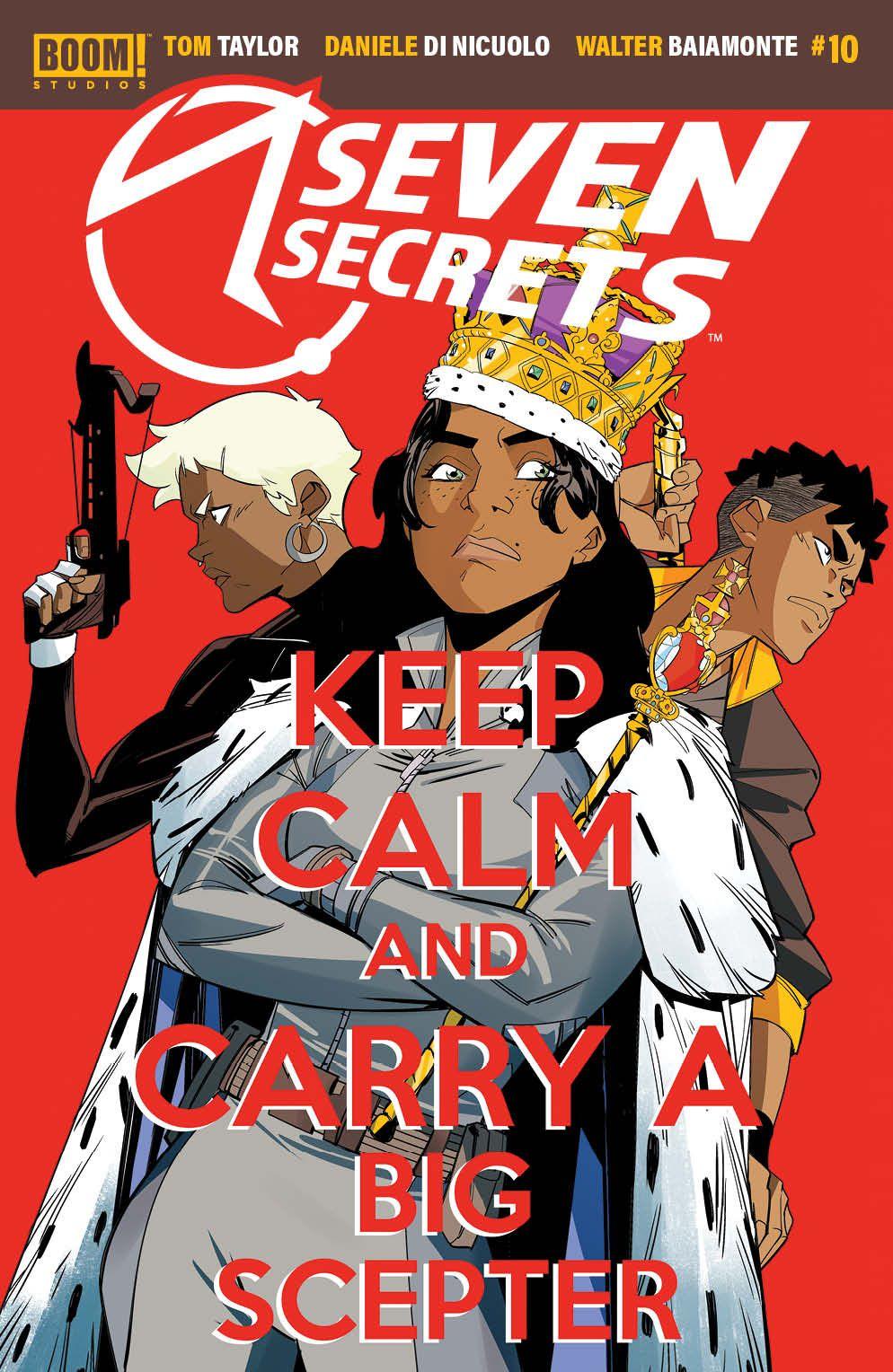 SevenSecrets_010_Cover_A_Main ComicList Previews: SEVEN SECRETS #10