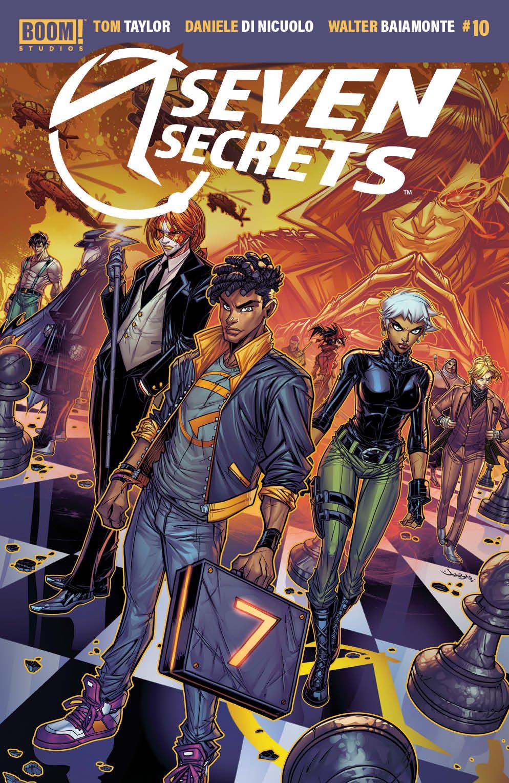 SevenSecrets_010_Cover_B_Variant ComicList Previews: SEVEN SECRETS #10