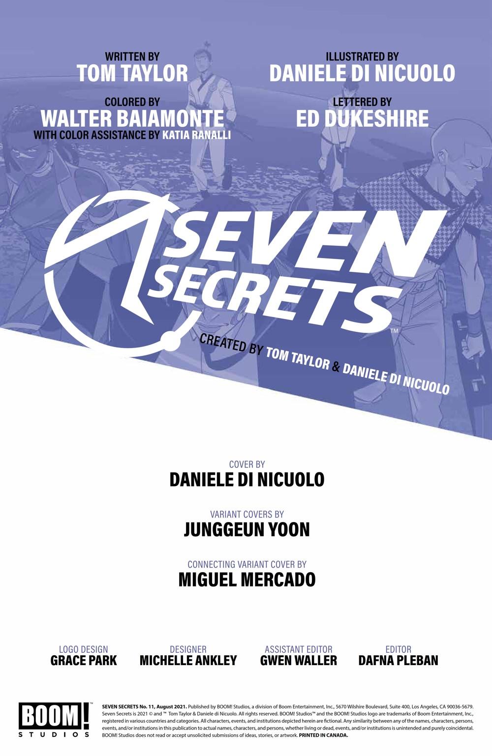 SevenSecrets_011_PRESS_2 ComicList Previews: SEVEN SECRETS #11