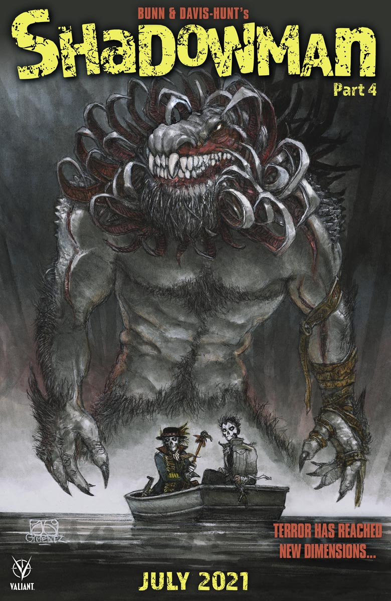 Shadowman_04_HorrorCover ComicList: Valiant Entertainment New Releases for 07/28/2021