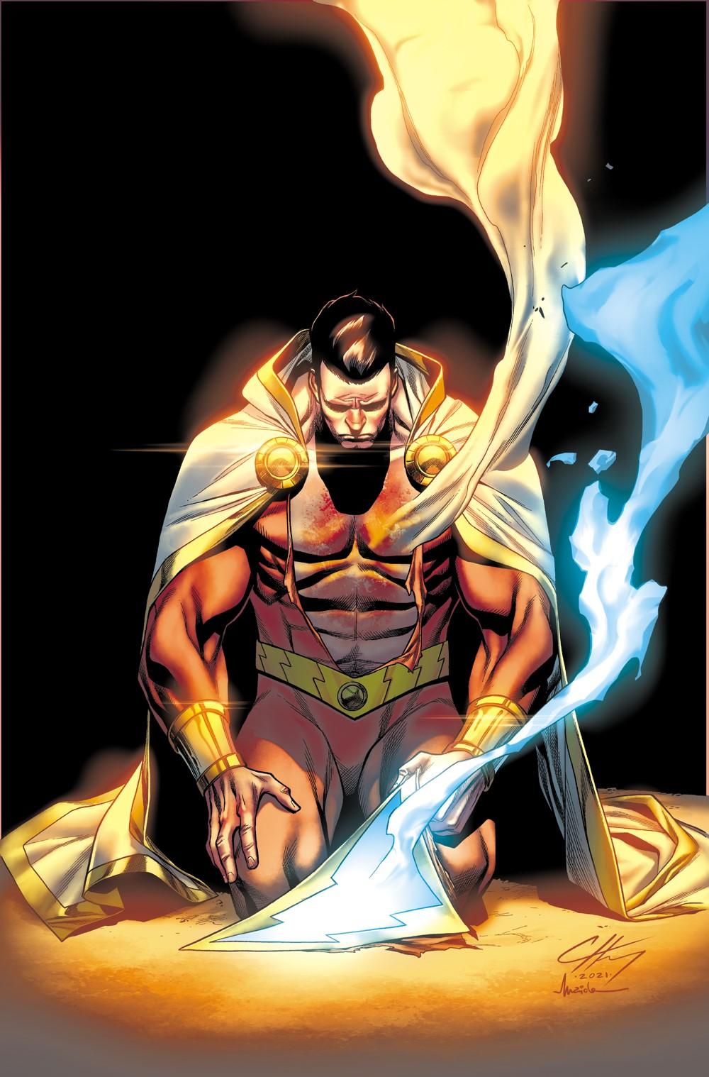 Shazam-4-Main-Cover DC Comics October 2021 Solicitations